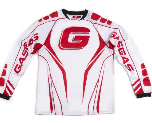 GasGas White Enduro Shirt